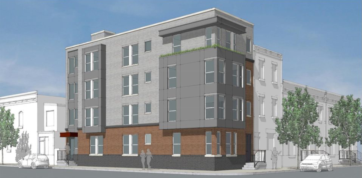 Rendering of 1164 South 18th Street.