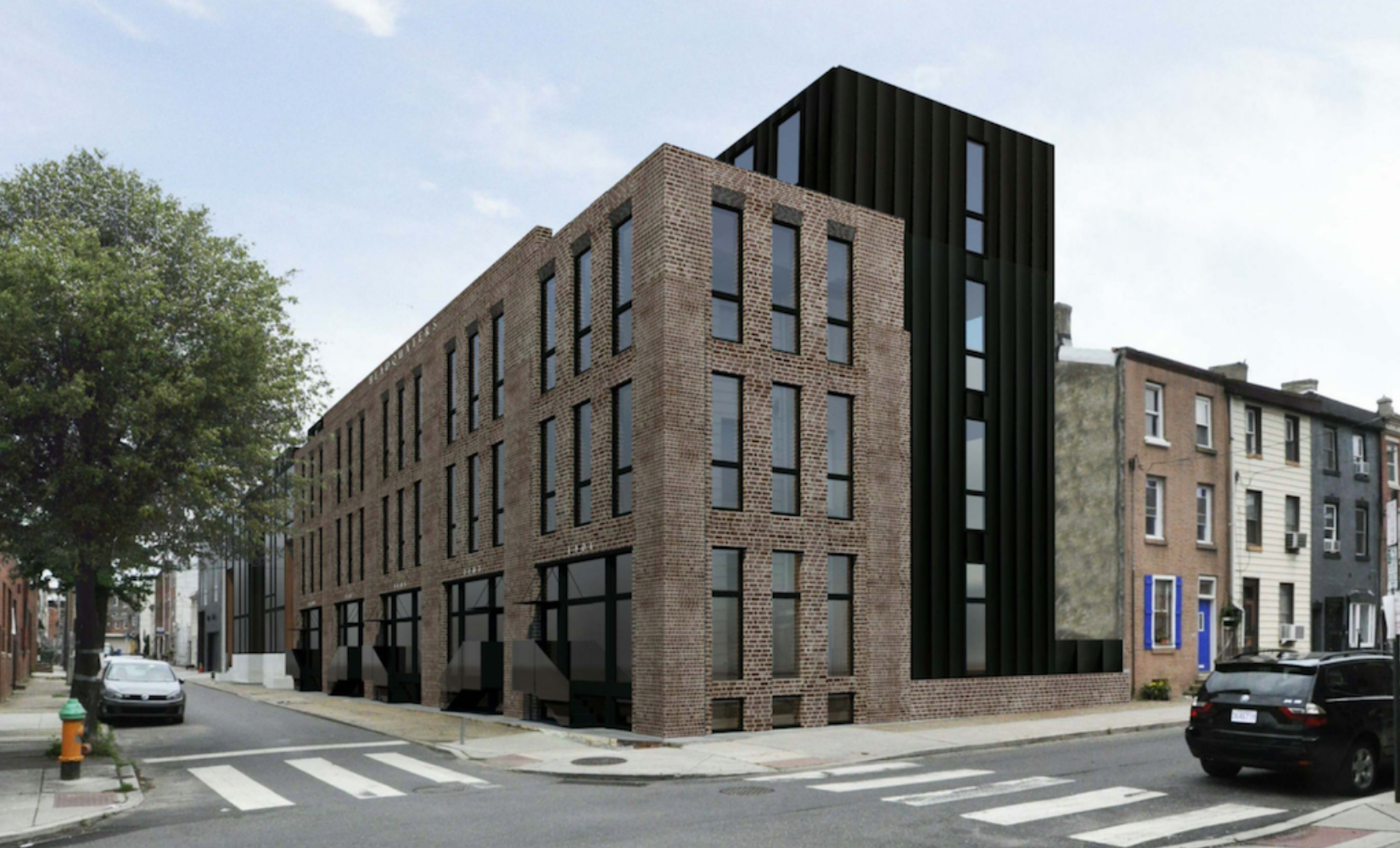 Rendering of Oxford Row. Credit: Ambit Architecture.