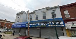 Current view of 5904-06 Germantown Avenue. Credit: Google.