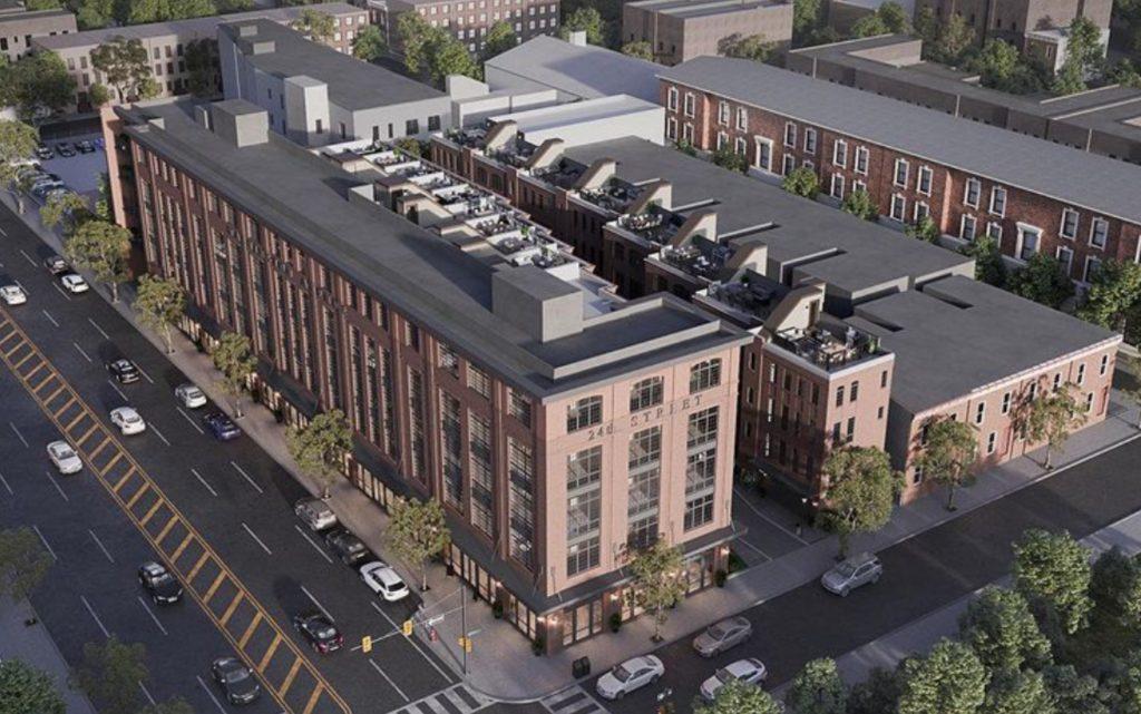 Rendering of Innovator Village via Philly Living Team.