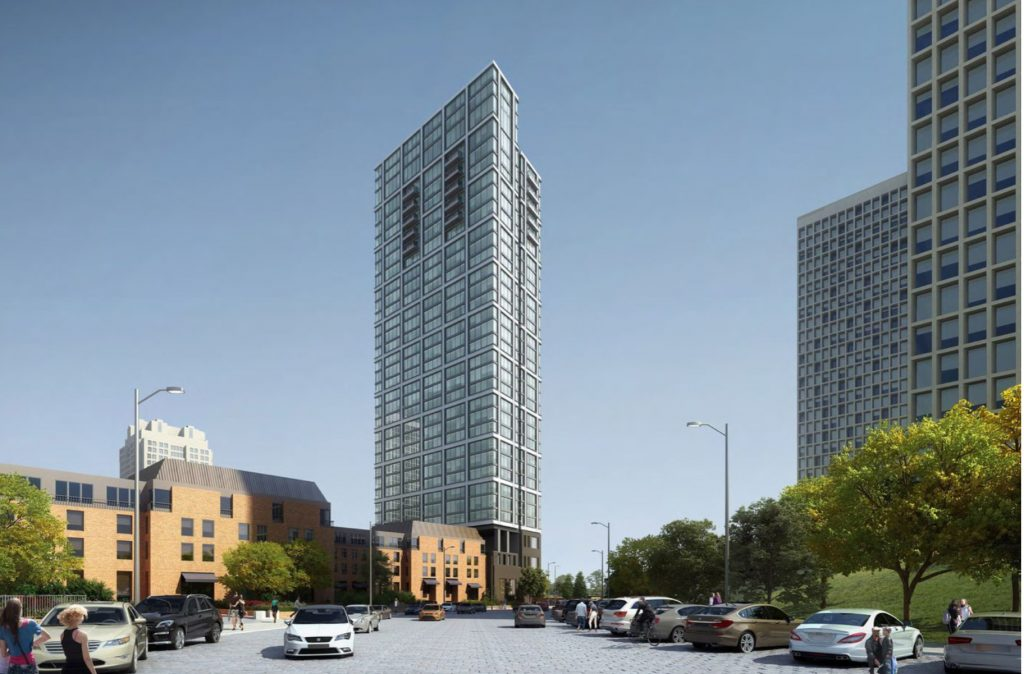 Rendering of One Dock Street. Credit: BLT Architects.