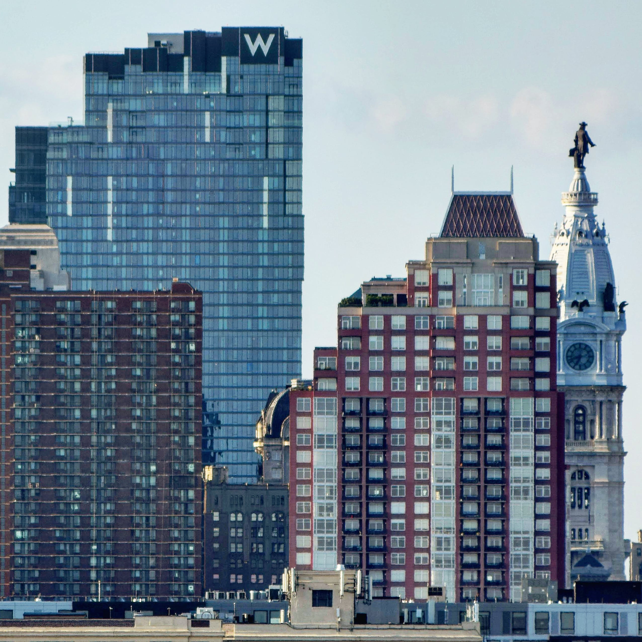 W/Element Hotel from City Hall. Photo by Thomas Koloski