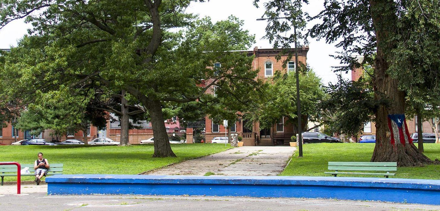Norris Square Park. Credit: The Cultural Landscpe Foundation