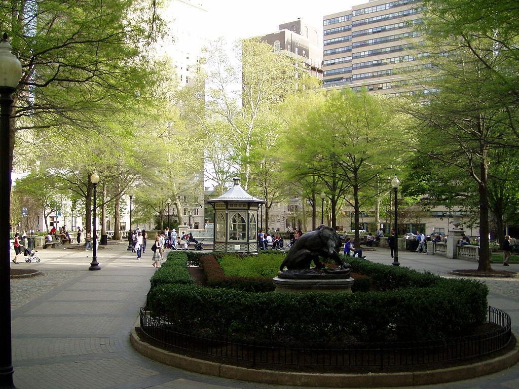 Rittenhouse Square. Credit: Jeffrey M. Vinocur via Wikipedia