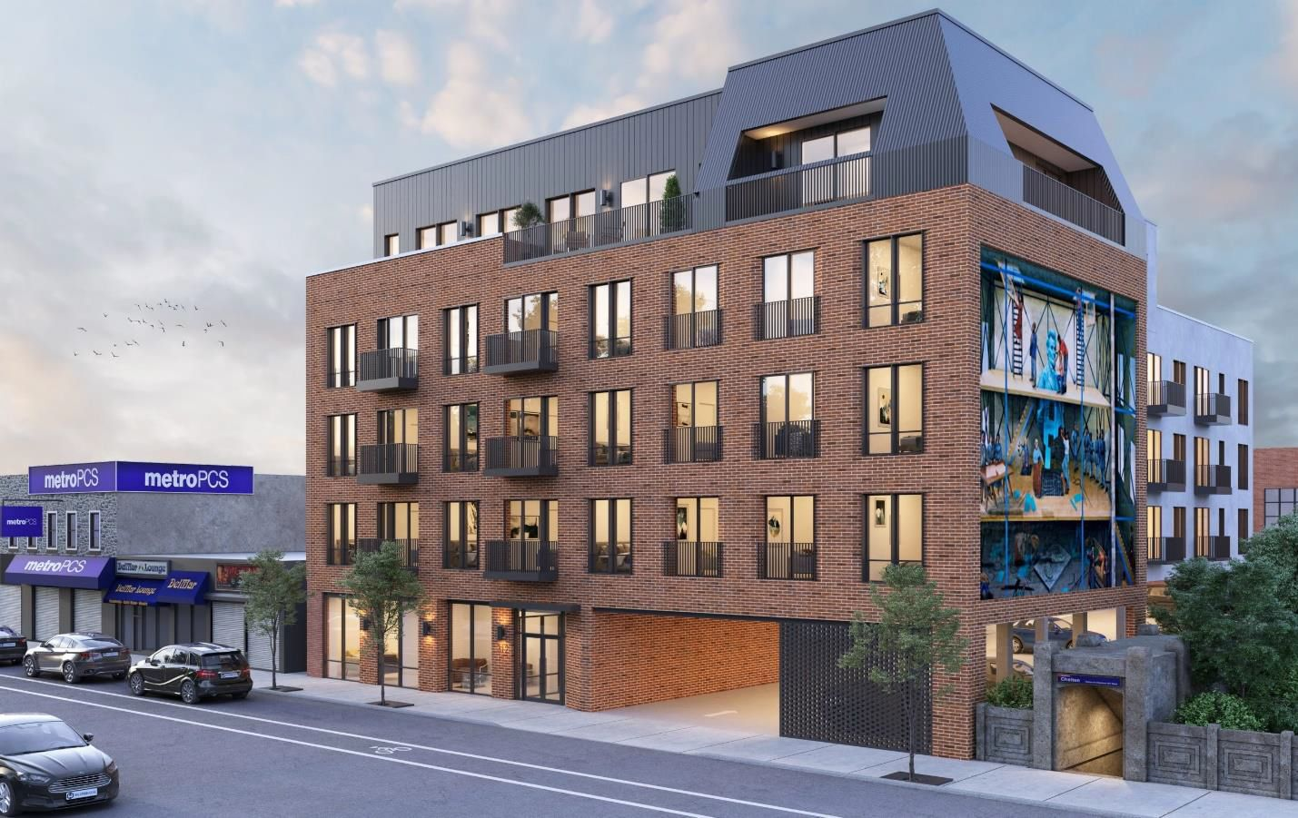 Station Square at 308-16 West Chelten Avenue. Credit: Tester Construction Group