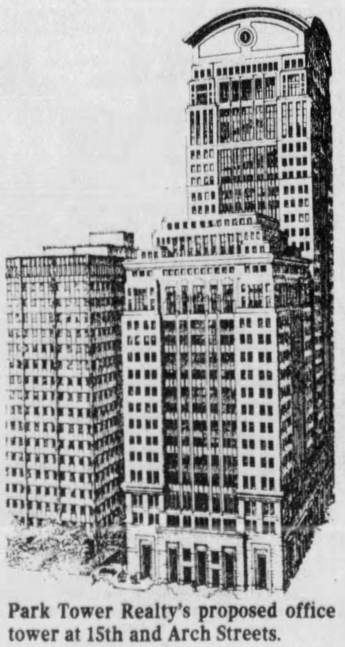 Park Tower. Image via Skidmore Owings and Merrill