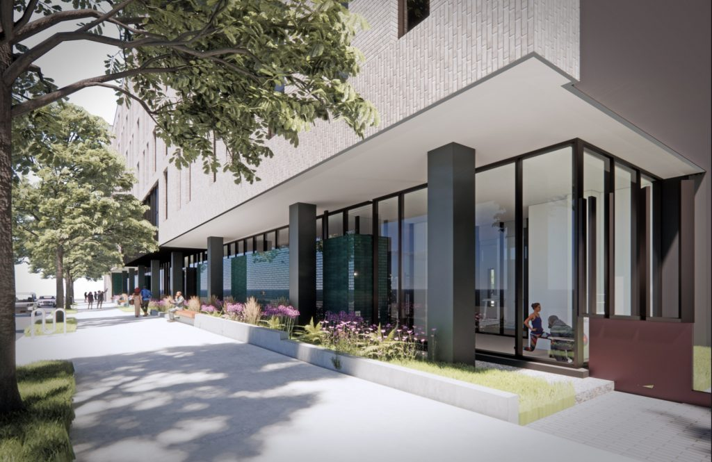 Rendering of 4519 Chestnut Street. Credit: SITIO Architecture + Urbanism.