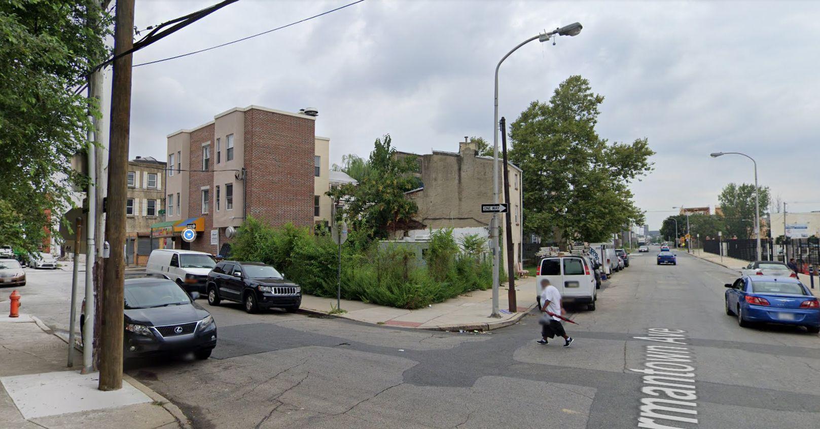 1500 Germantown Avenue. Looking northwest. Credit: Google Maps