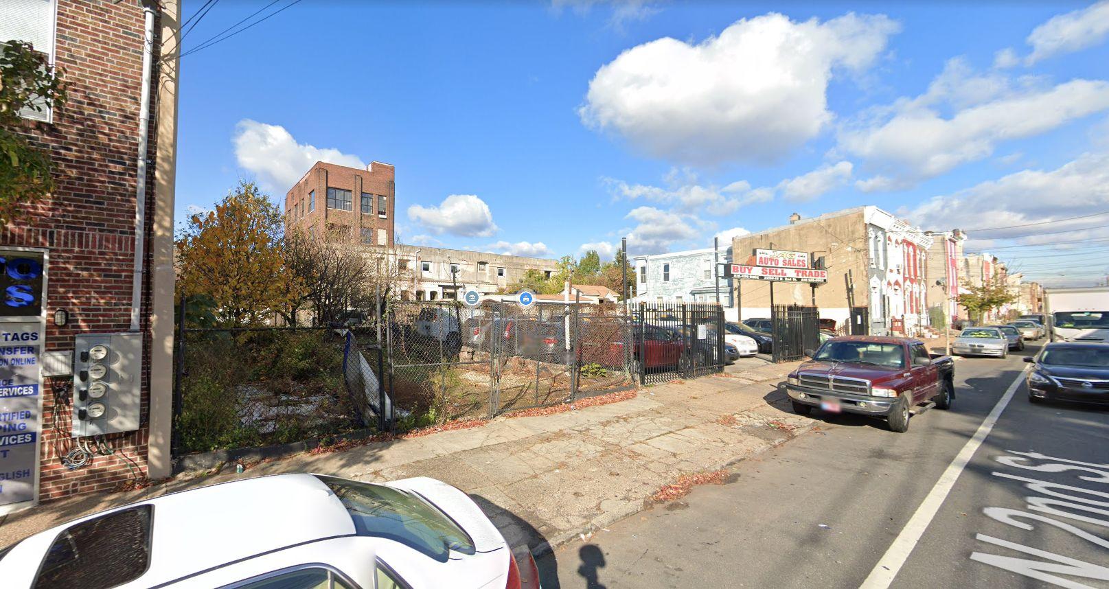 2206 North 2nd Street. Looking northwest. Credit: Google Maps