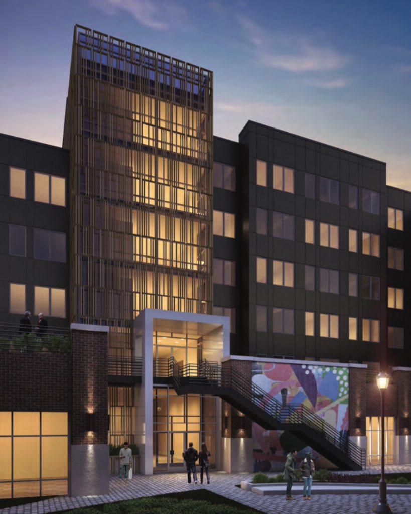 Rendering of 2101 Washington Avenue. Credit: JKRP Architects.