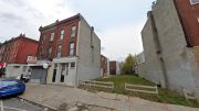 2951 Frankford Avenue. Looking east. Credit: Google Maps