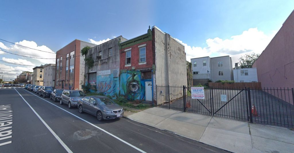 3614 and 3616 Haverford Avenue. October 2018. Looking southeast. Credit: Google Maps