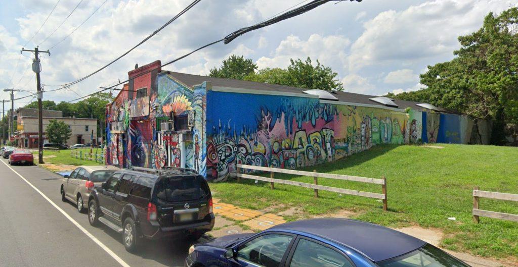Dupree Studios at 3619 Haverford Avenue. Looking northwest. Credit: Google Maps