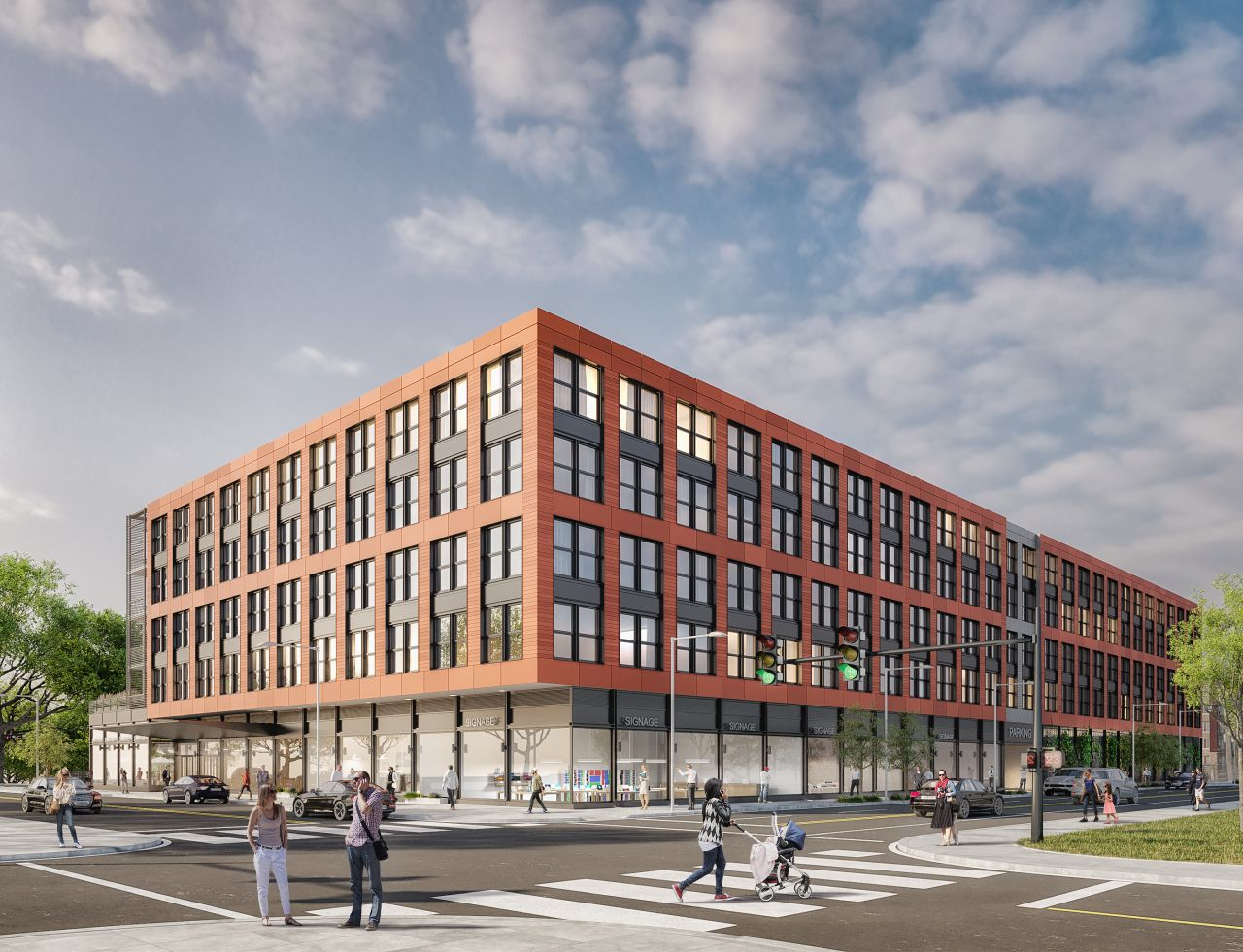 4300 Ridge Avenue. Credit: Method Co. and Morris Adjmi Architects