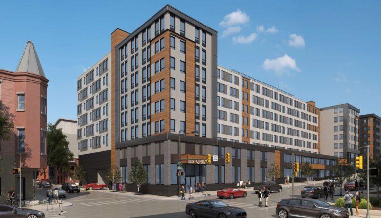Rendering of 4301 Chestnut Street. Credit: JKRP Architects.