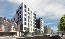 Rendering of 4240 Chestnut Street. Credit: DAS Architects.