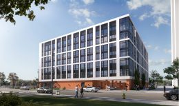 Rendering of 933 North Penn Street. Credit: HDO Architecture.