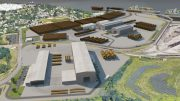 EEW-AOS Monopile Manufacturing Facility. Credit: The Harman Group