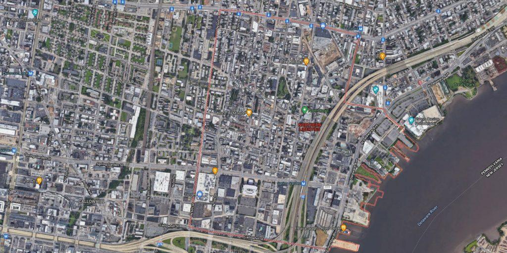 Northern Liberties. Credit: Google MapsNorthern Liberties. Credit: Google Maps