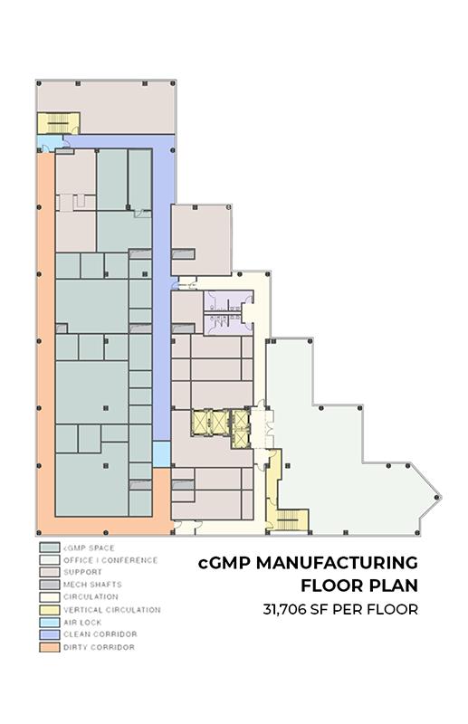 Manufacturing floor plan. Image via ultralabsphiladelphia.com