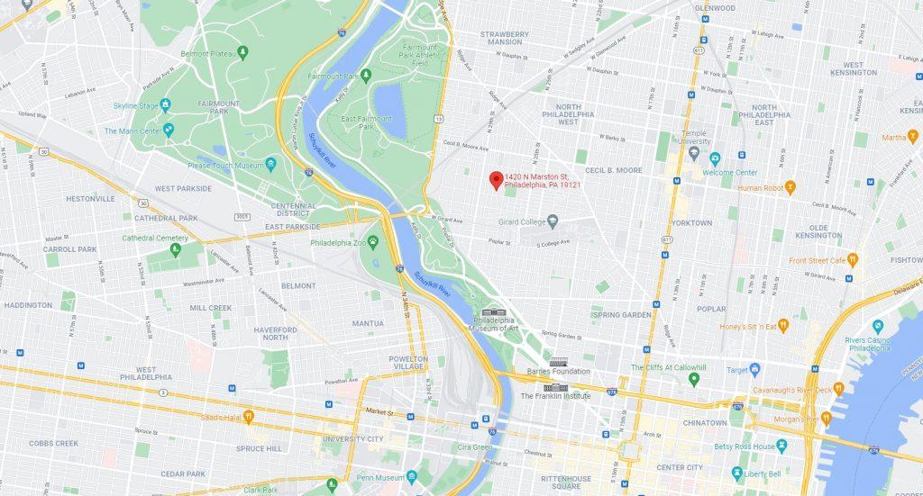 1420 North Marston Street. Credit: Google Maps