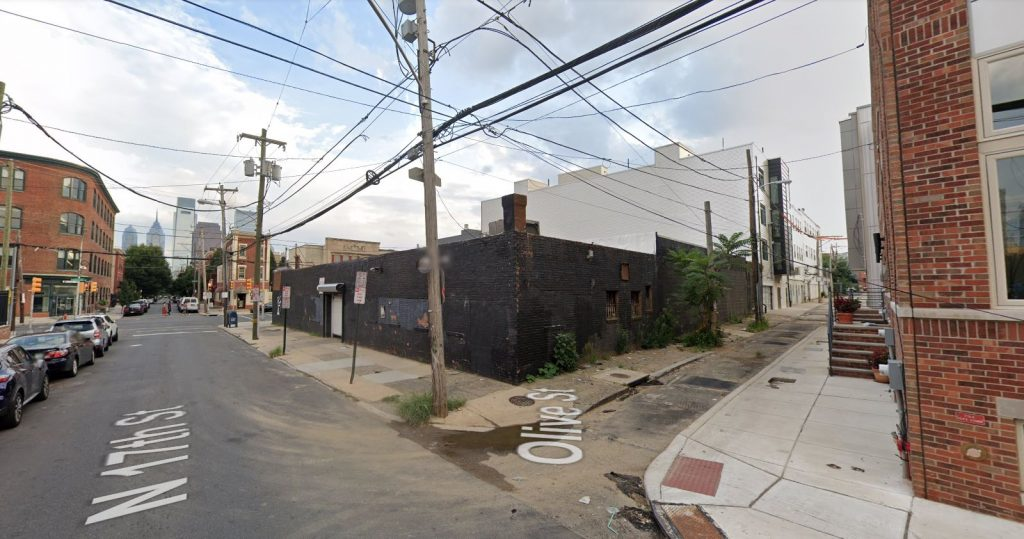 1701 Fairmount Avenue. Looking southwest. Credit: Google Maps