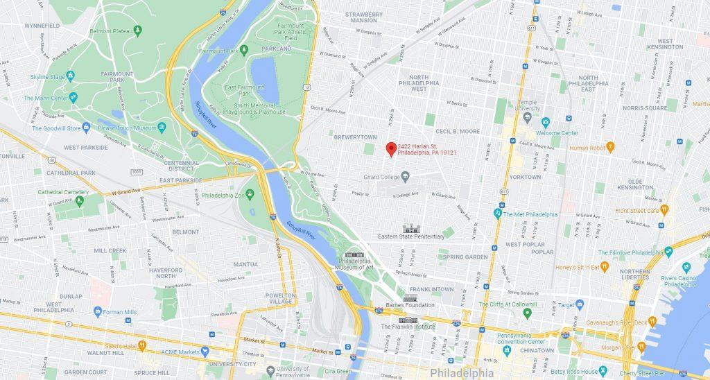 2422 Harlan Street. Credit: Google Maps