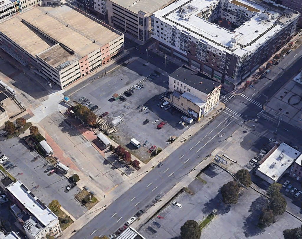 Former view of the development site. Credit: Google.