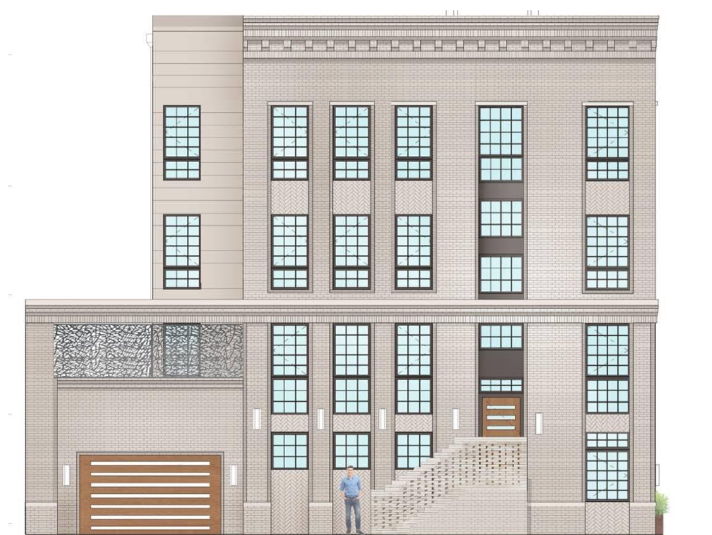Rendering of 316-20 South 11th Street.