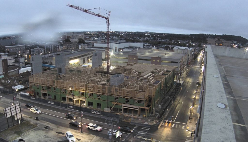 Current view of the development. Credit: City Center Investment Co.