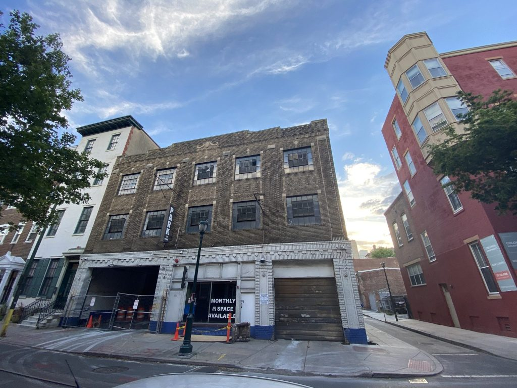 Former view of 316-20 South 11th Street. Credit: Colin LeStourgeon.