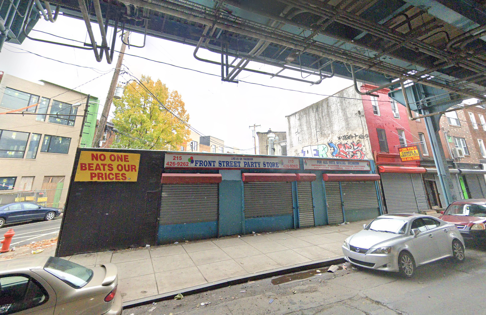 Former view of 2243-45 North Front Street. Credit: Google.