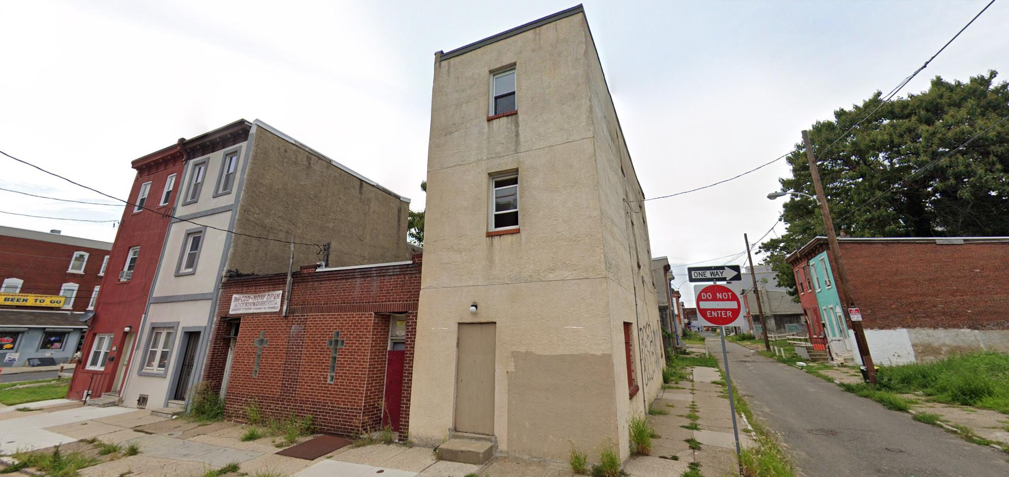 Former view of 809 Diamond Street. Credit: Google.